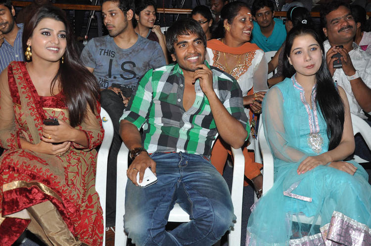 Tashu And Srinivas Make An Appearance At Gola Seenu Audio Launch Function