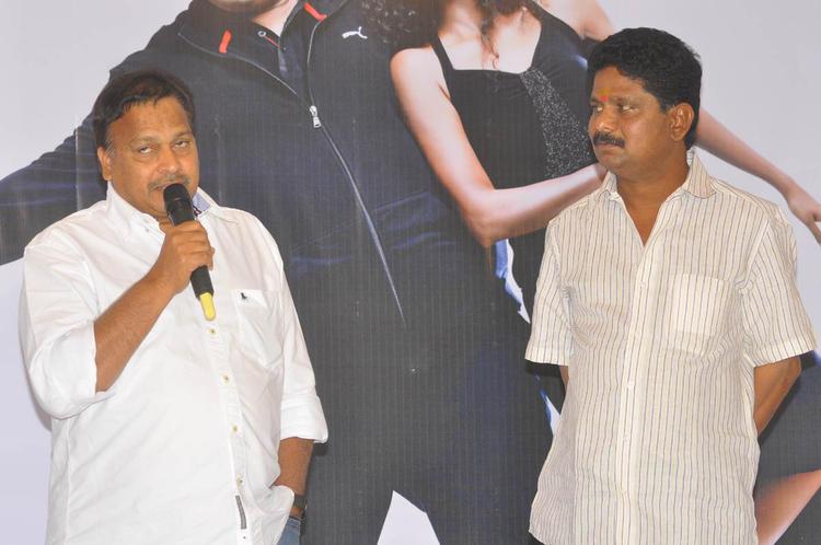 C.Kalyan Spotted At Mr Manmadha Movie Audio Release Function