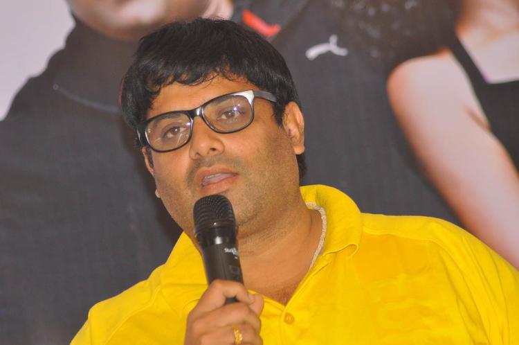 Krishnudu Addressed The Audience At Mr Manmadha Movie Audio Release Function