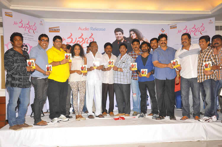 Krishnudu,Sonia,Satyam,T. Prasana,Navaneeth,Raja And Sagar At Mr Manmadha Movie Audio Release