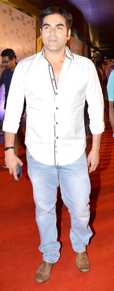 Arbaaz Arrived At Kai Po Che Premiere Show Event