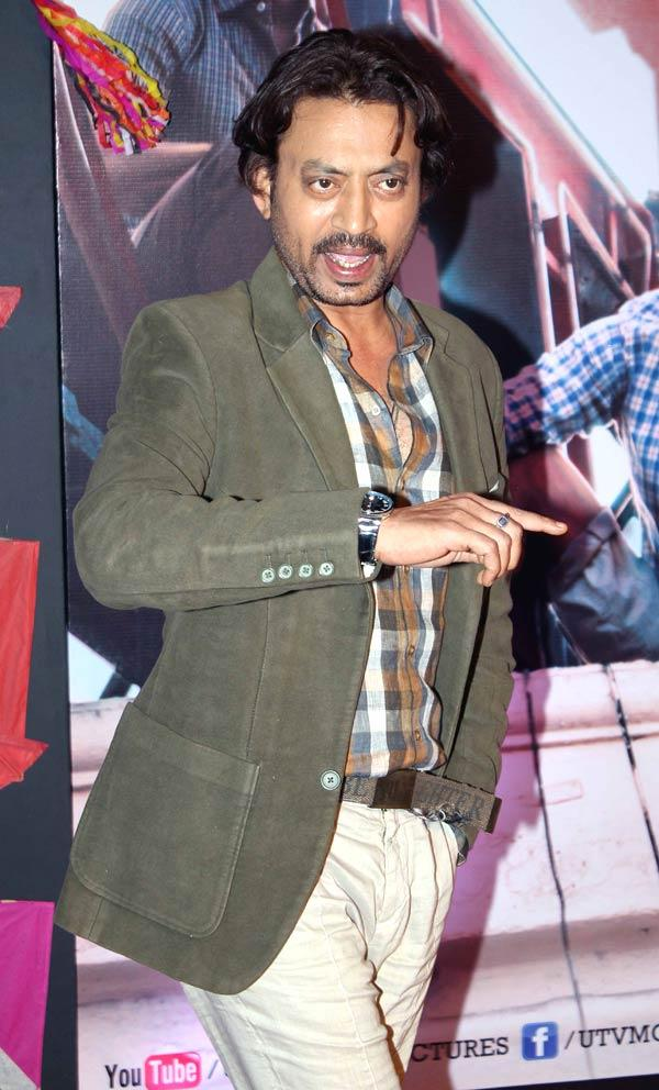 Irrfan Khan Make A Statement At Kai Po Che Premiere Show Event