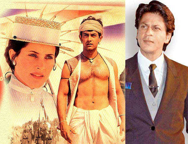 Amir In Dhoti And Shahrukh In Suit Photo Still
