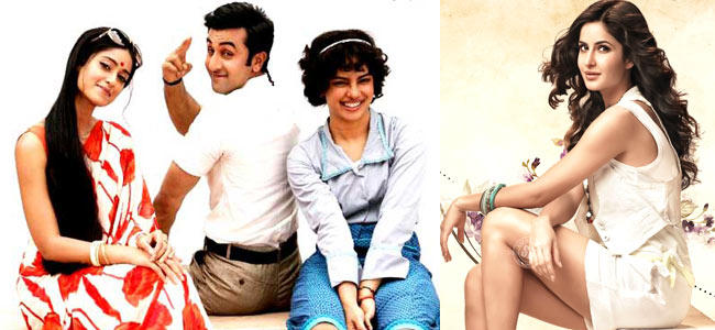 Ileana,Ranbir And Priyanka Photo Still From Movie Barfi