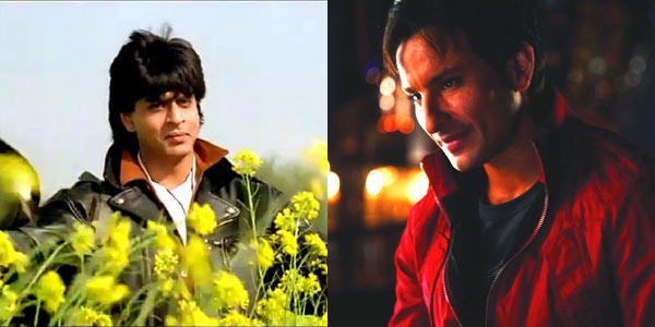 Shahrukh And Saif Ali Nice Expression Photo Still