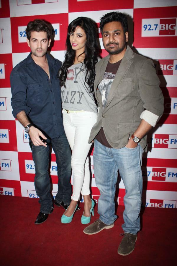 Neil Nitin And Sonal Spotted At 92.7 FM Radio To Launch 3G Movie Music