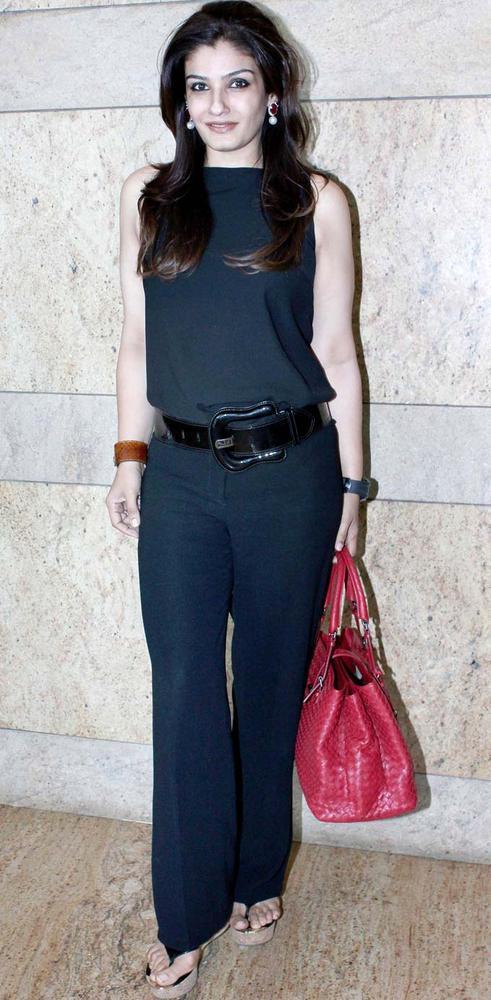 Raveena Looked Glamourous At IMC Fusion 2013 Awards