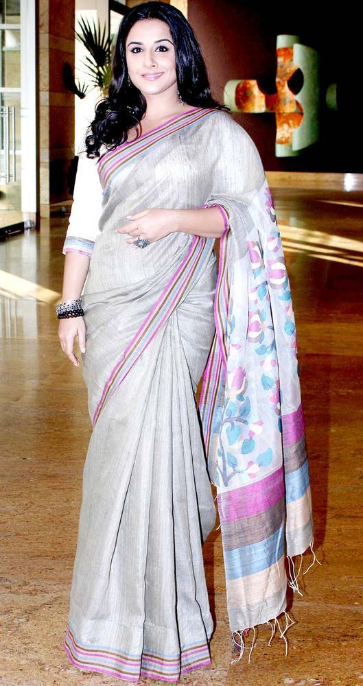Vidya Balan Looked Gorgeous In A Sari At IMC Fusion 2013 Awards