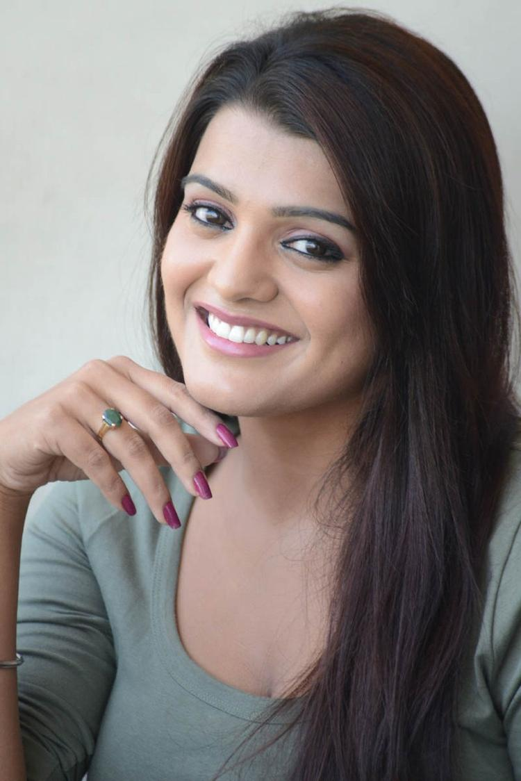 Tashu Kaushik Cute Look Still At Telugabbai Movie Press Meet