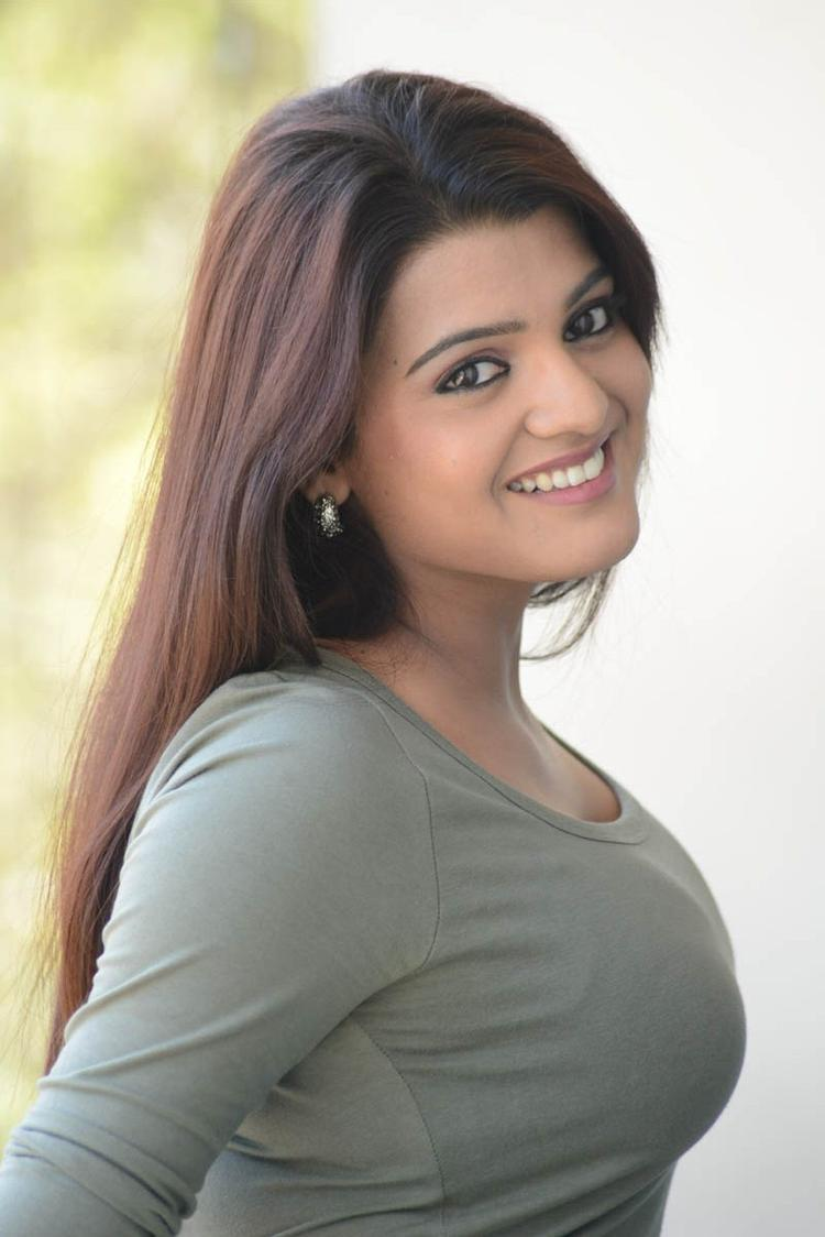 Tashu Kaushik Spicy Look Shoot At Telugabbai Movie Press Meet