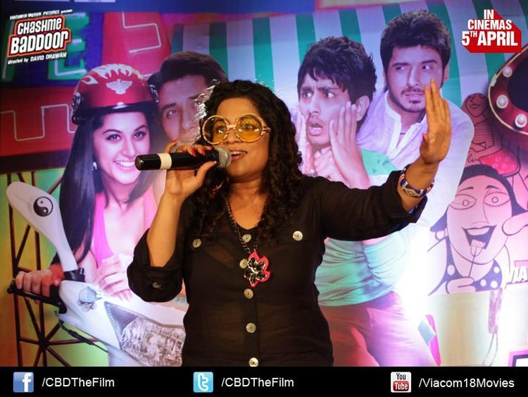 RJ Malishka Host The Show At Chashme Baddoor Music Launch