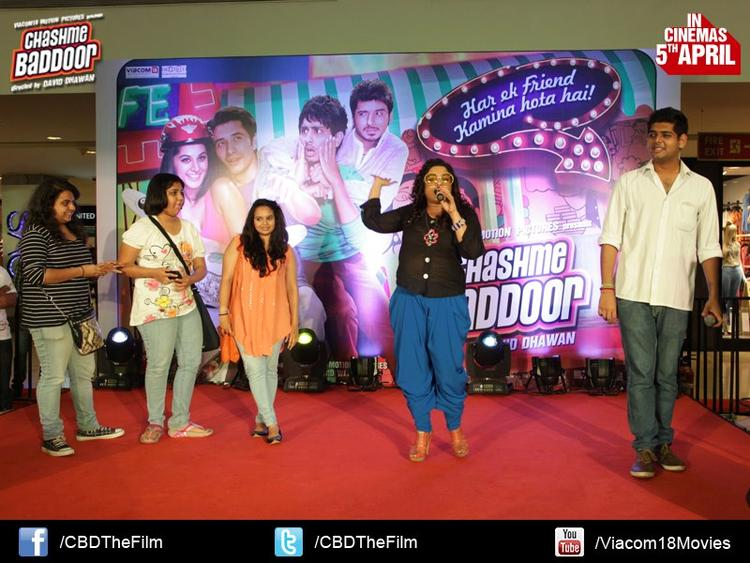 RJ Malishka Speak Out Photo Clicked At Chashme Baddoor Music Launch