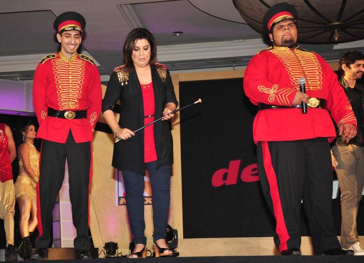 Farah Khan Attend The Sony MAX IPL Press Conference 2013