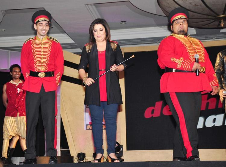 Farah Khan Dazzles At Sony MAX IPL Press Conference 2013