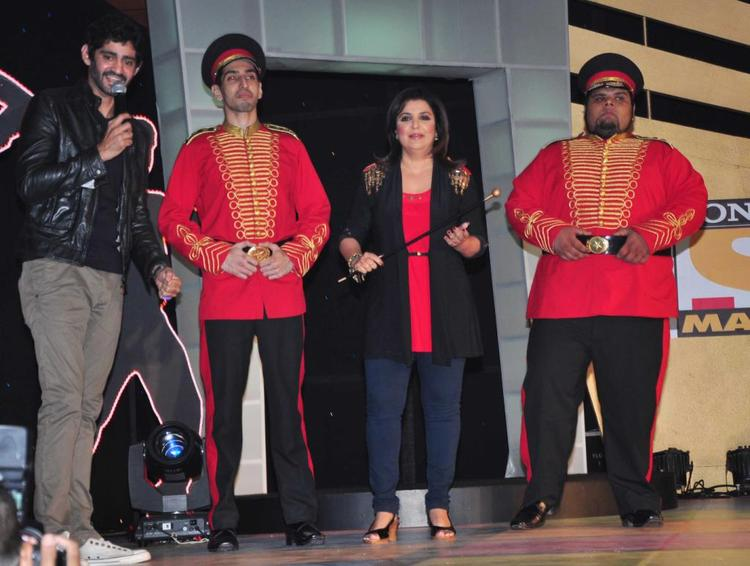 Gourav Speaks On And Farah Posed At Sony MAX IPL Press Conference 2013