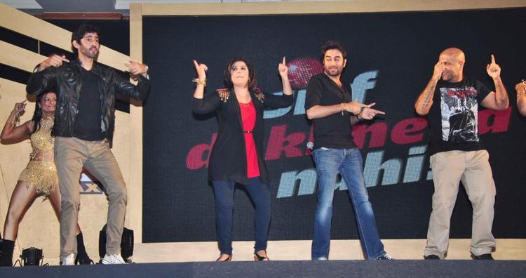 Gourav,Farah,Shekhar And Vishal Rocked At Sony MAX IPL Press Conference 2013