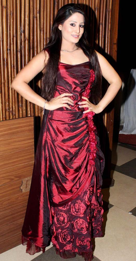 A Celeb Posed In A Chick Dress At Mushaira Hosted By Kapil Sibal And Anu Ranjan