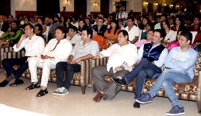 Roop Kumar,Neena,Madhur And David Enjoy The Evening At Mushaira Hosted By Kapil Sibal And Anu Ranjan