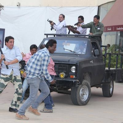 A Fighting Still In The Trailer Launch Of Shootout At Wadala