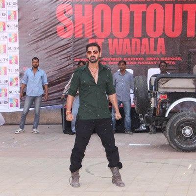 John Abraham Angry Look Shoot At The Trailer Launch Of Shootout At Wadala