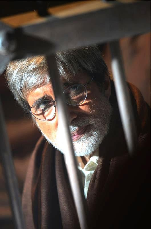 Amitabh Bachchan In Jail On The Sets Of Satyagraha Movie