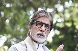 Amitabh Bachchan Nice Simple Look On The Sets Of Satyagraha Movie