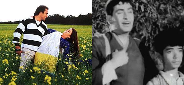 Aishwarya,Akshaye And Raj Kapoor Photo Still From Their Movie