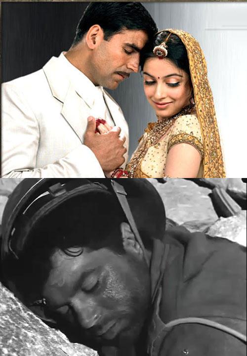 Akshay And Divya Photo Still From Ab Tumhare Hawale Watan Saathiyon