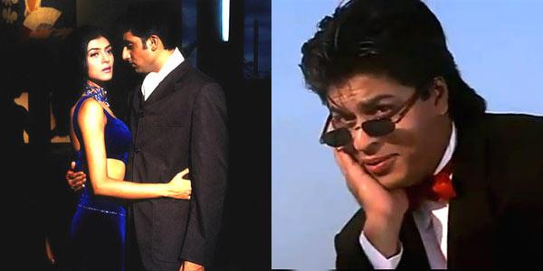 Shahrukh,Abhishek And Sushmita Photo Still From Their Movie
