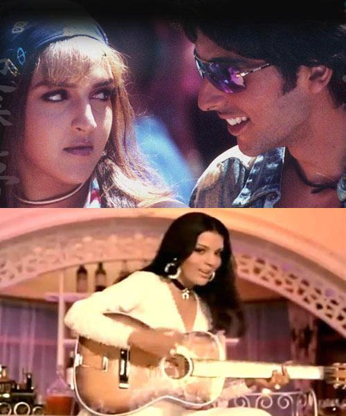 Zayed,Esha And Zeenat Photo Still From Their Movie