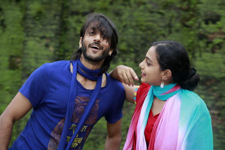 Chetan And Nithya Cool Still From Mynaa Kannada Movie
