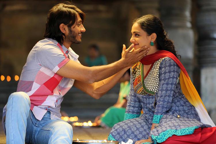 Chetan And Nithya A Cool Still From Mynaa Kannada Movie