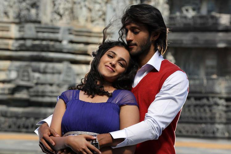 Chetan And Nithya Hot Romantic Scene From Mynaa Kannada Movie