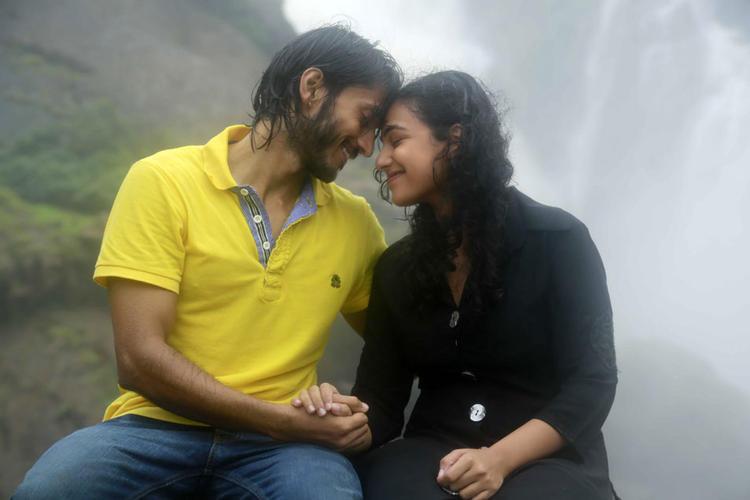 Chetan And Nithya Romantic Scene From Mynaa Kannada Movie