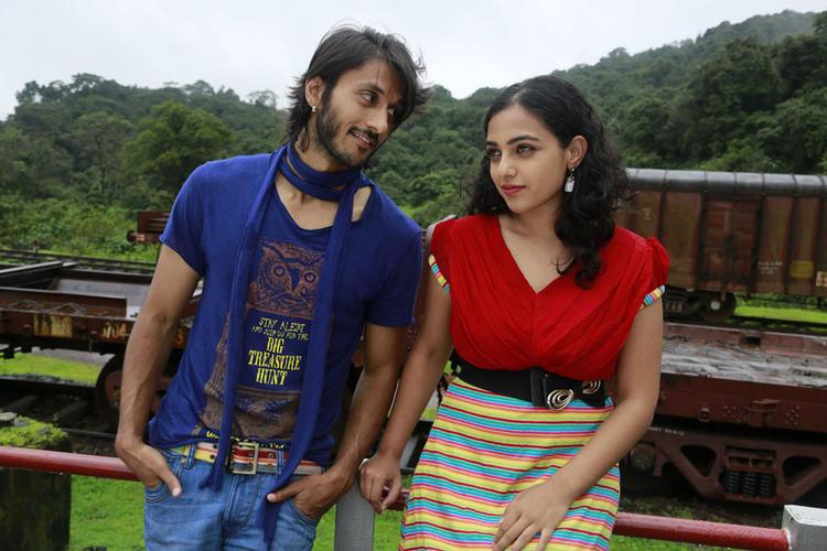 Chetan And Nithya A Still From Mynaa Kannada Movie