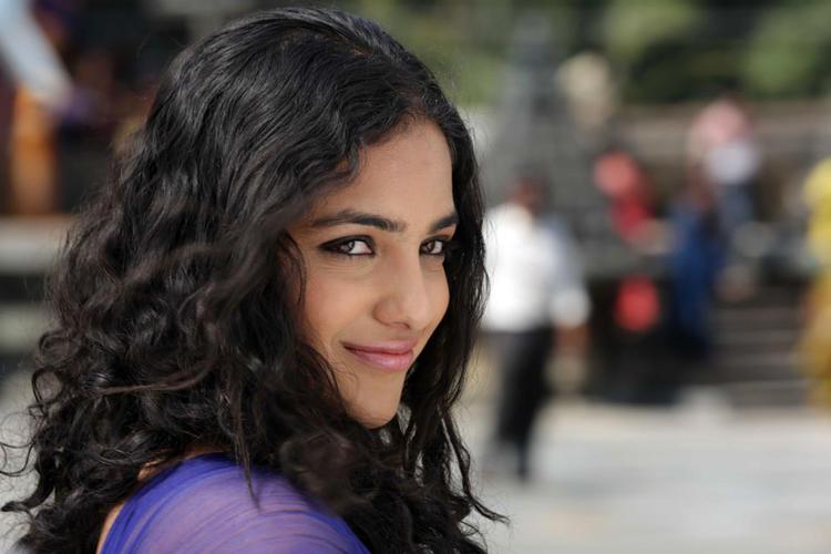 Nithya Menen Cute Face Look Still From Mynaa Kannada Movie