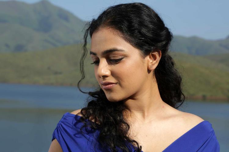 Nithya Menen Dazzling Face Look Still From Mynaa Kannada Movie