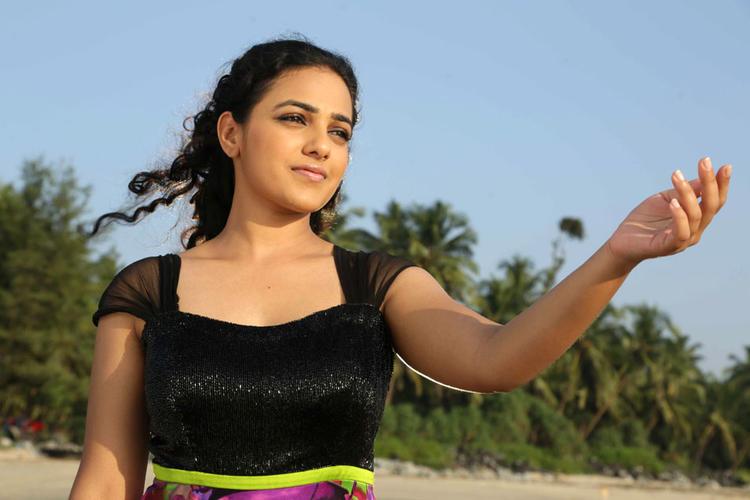 Nithya Menen Stunning Look Still From Mynaa Kannada Movie
