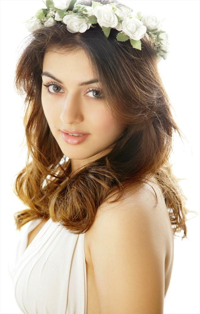 Hansika Looked Radiant And Beautiful Photo Shoot In A White Dress