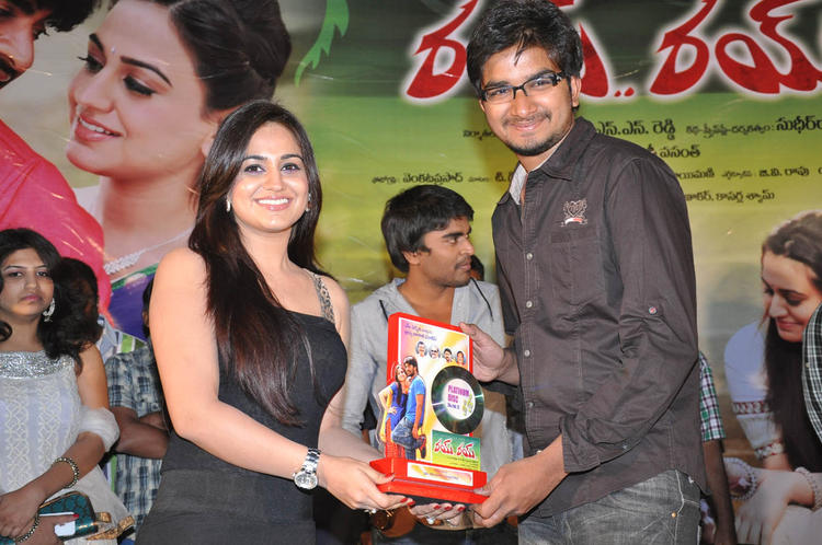 Aksha Pardasany Posed At Rye Rye Platinum Disc Function