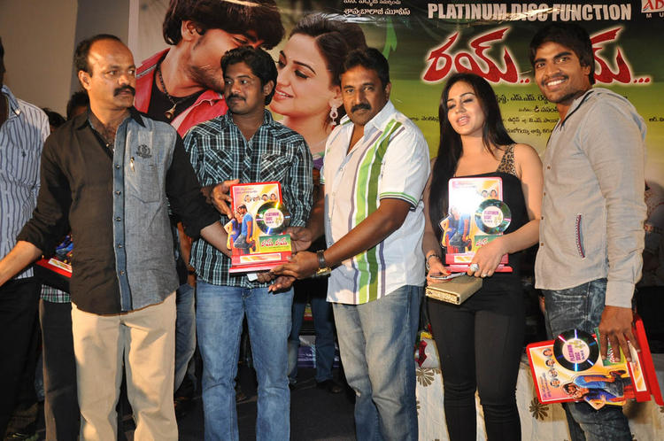 Aksha Pardasany,Srinivas And Others Graced At Rye Rye Platinum Disc Function