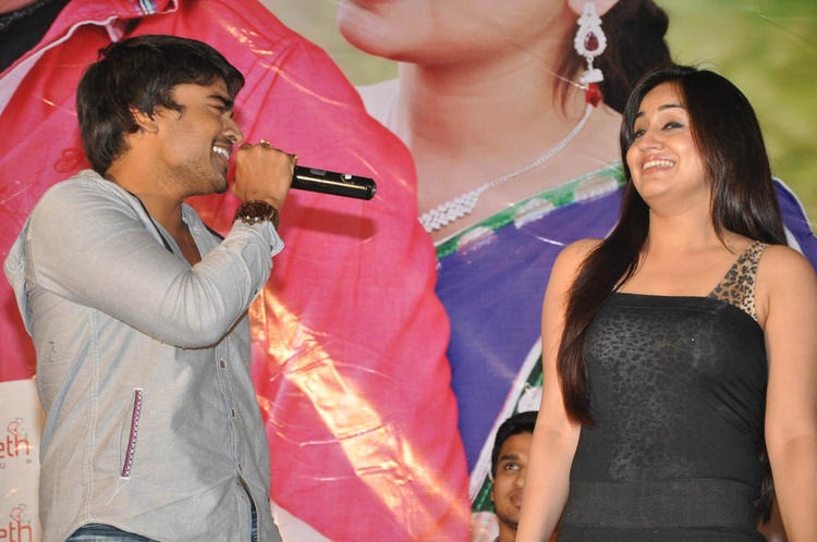Srinivas And Aksha Pardasany Cool Chatting At Rye Rye Platinum Disc Function