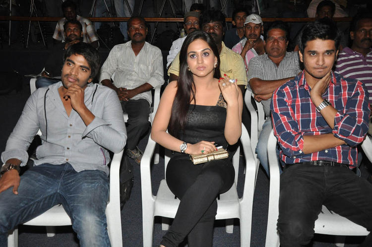 Srinivas,Aksha Pardasany And Nikhil Siddharth Enjoy The Programme At Rye Rye Platinum Disc Function