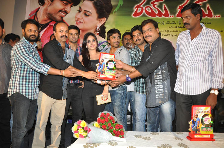 Srinivas,Aksha Pardasany And Others Clicked At Rye Rye Platinum Disc Function