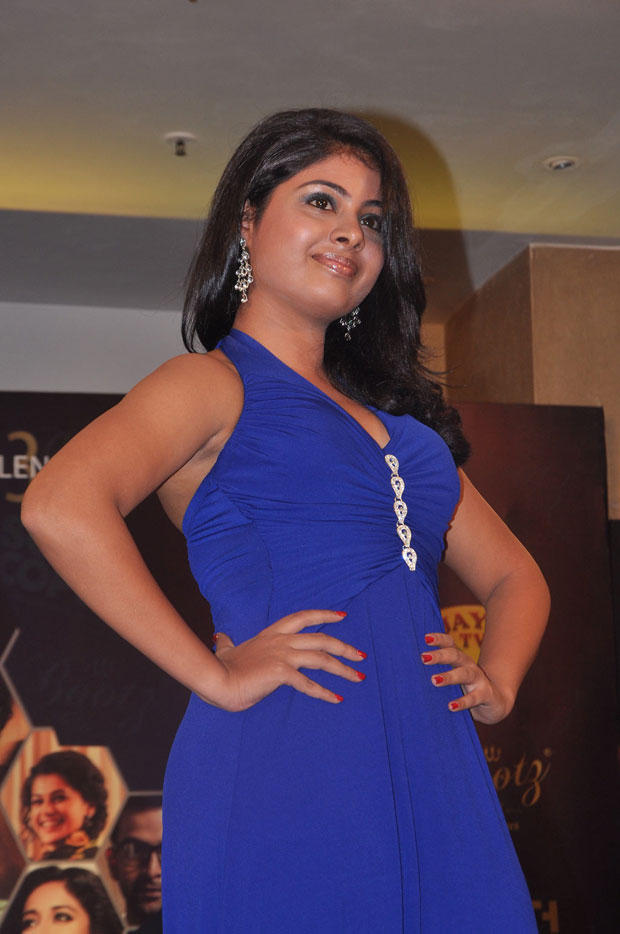 A Hot Model On Ramp At South Scope Calendar Launch 2013