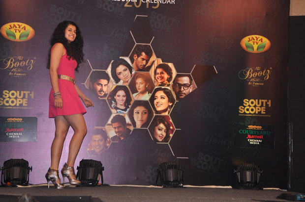 Taapsee Pannu Graces On The Ramp Show At South Scope Calendar Launch 2013