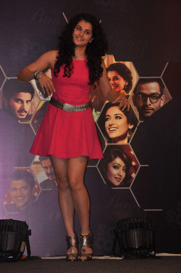 Taapsee Pannu Strikes A Pose At South Scope Calendar Launch 2013