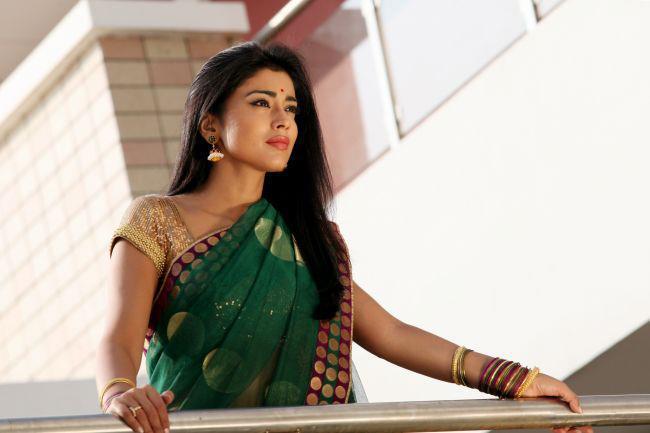 Shriya Saran Dazzling Look Still  From Movie Pavitra