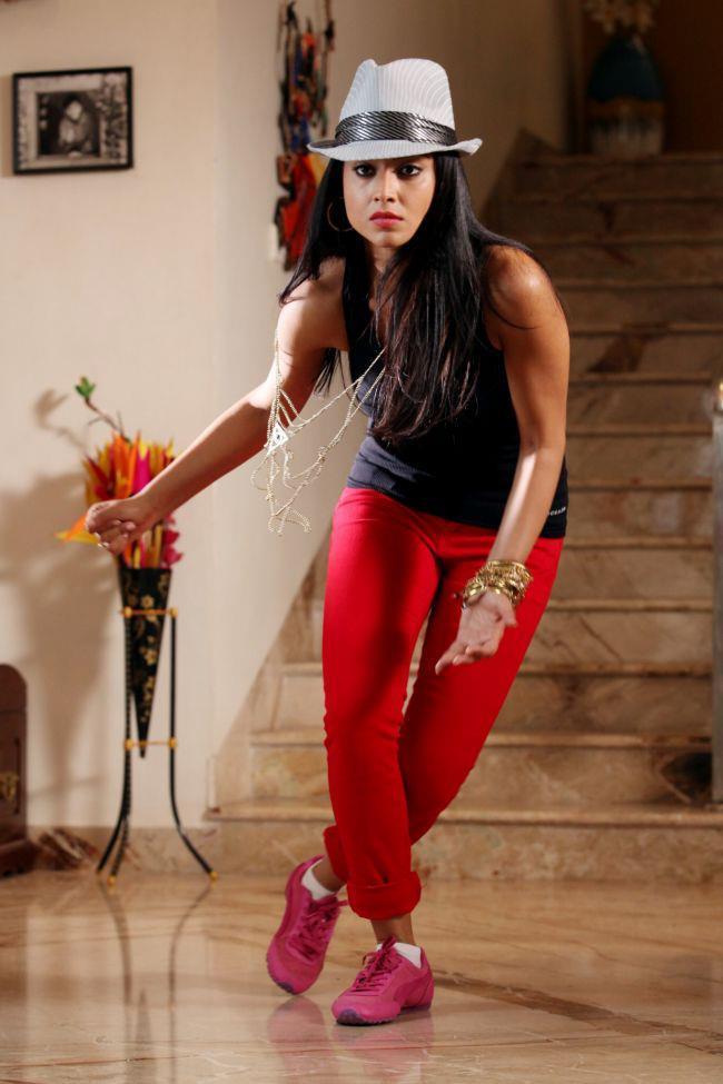Shriya Saran Dancing Photo Still From Movie Pavitra