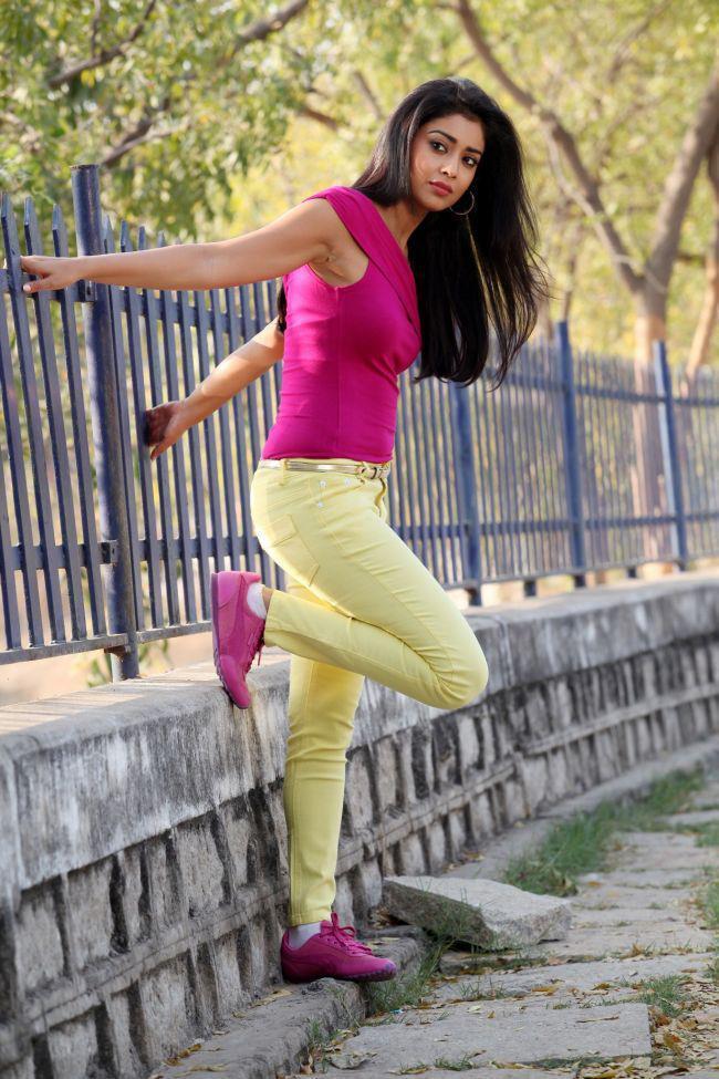 Shriya Saran Glamour Look Photo Still From Movie Pavitra